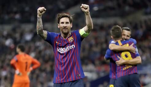 Barcelona menghadapi Tottenham Hotspur pada laga kedua Grup B Liga Champions, di Stadion Wembley, Rabu (3/10/2018) waktu setempat. Foto : Liputan6