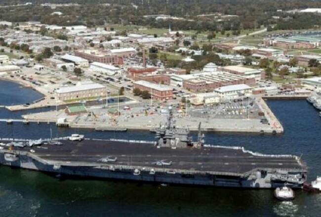 Pangkalan Angkatan Laut Pensacola yang berlokasi di Florida, Amerika Serikat. Foto: Kompas