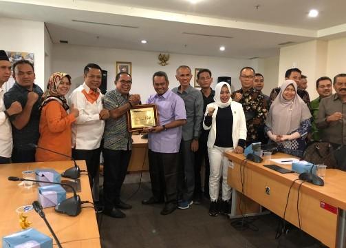 DPRD Kota Pekanbaru kunjungi DPRD DKI Jakarta pada Rabu (16/10/2019).