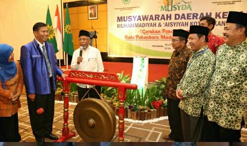 Musda Ke 11 Muhammadiyah Dan Aisyiyah Kota Pekanbaru Resmi