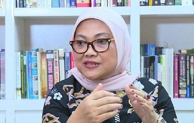 Menteri Tenaga Kerja (Menaker) Ida Fauziyah