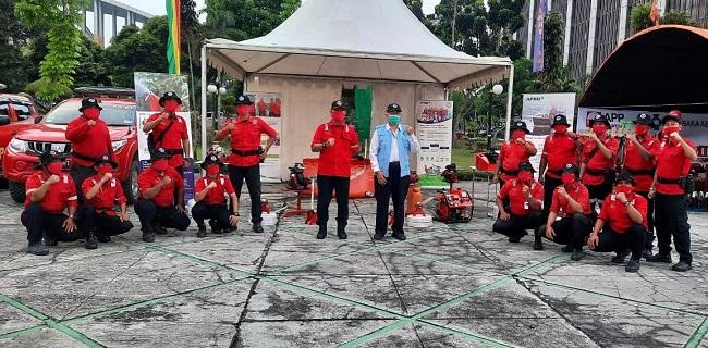 PT RAPP menyiagakan 2.275 personil fire fighter di seluruh wilayah operasional perusahaan.
