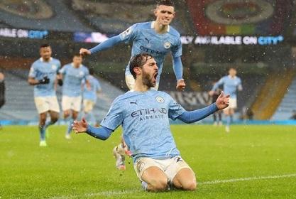 Manchester City menang 2-0 atas Aston Villa (Foto: Getty Images/Pool)