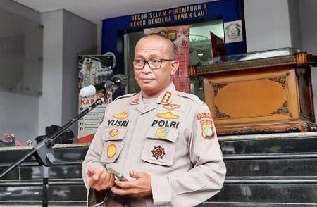 Kabid Humas Polda Metro Jaya Kombes Pol Yusri Yunus saat memberikan keterangan pers di Polda Metro Jaya