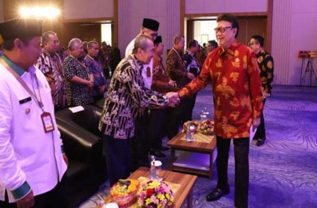 Penyerahan SAKIP 2019 di Kota Batam, Provinsi Kepulauan Riau, Senin (10/2/2020), langsung diserahkan Menteri Pemberdayaan Aparatur Negara-Reformasi Birokrasi (Menpan-RB), Tjahjo Kumolo.
