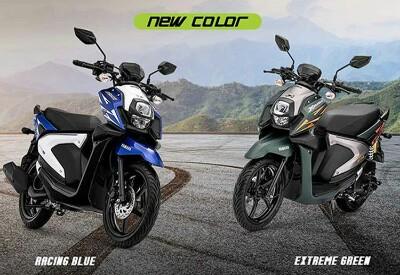 Yamaha X-Ride dengan warna baru.