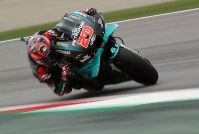 Pembalap Petronas Yamaha SRT Fabio Quartararo.