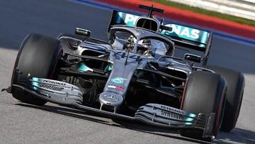 Lewis Hamilton juara di F1 GP Rusia. FOTO: AFP