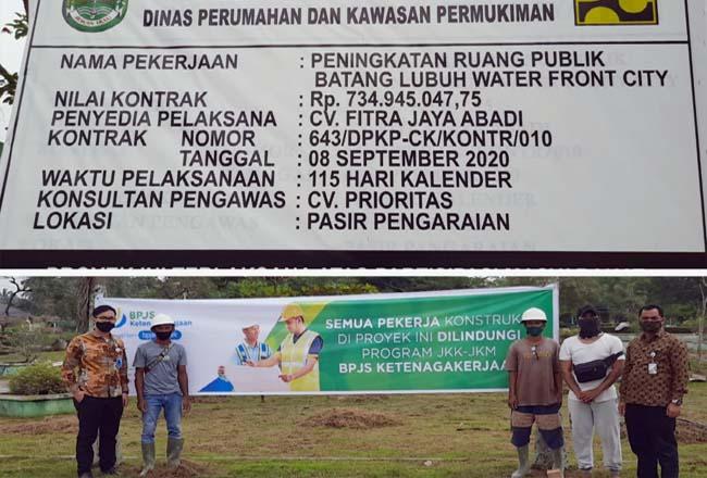 Kepala Cabang BPJamsostek Ketenaga Kerjaan Rohul Ridwan Lubis, turun langsung di kegiatan Jakon, terkait pemberian beri perlindungan ke pekerja formal, informal dan pekerja musiman.