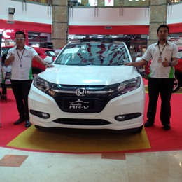 Pameran Dealer Honda Soekarno Hatta di Mal Ska, Pekanbaru, beberapa waktu lalu dengan menghadirkan Honda HR-V