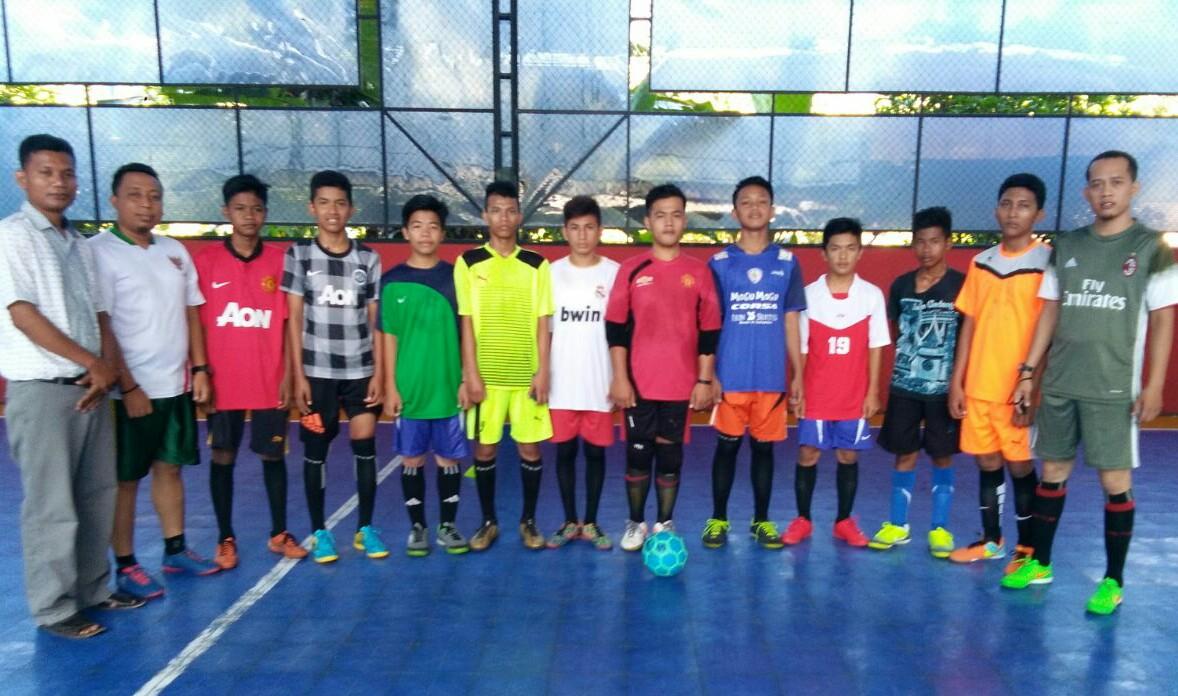 HALLORIAUcom PSSI Rohul Utus 10 Pelajar U 14 Di Kejurda Futsal