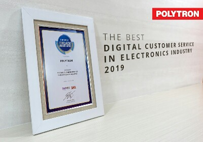 Polytron raih The Best Digital Customer Service.