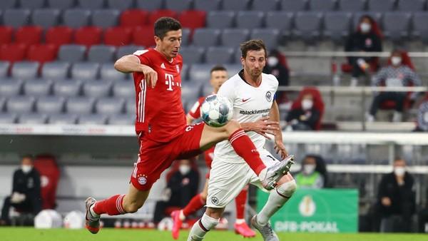 Bayern Munich ke final DFB Pokal. (Foto: Kai Pfaffenbach/Pool via Getty I/Pool)