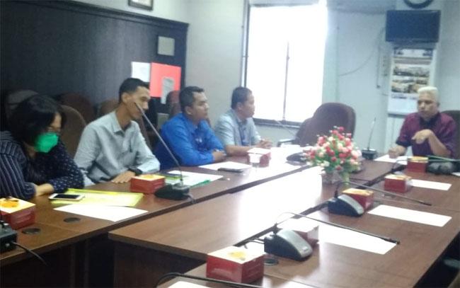 Komisi II DPRD Kota Pekanbaru hearing bersama pengelola parkir di Kota Pekanbaru.