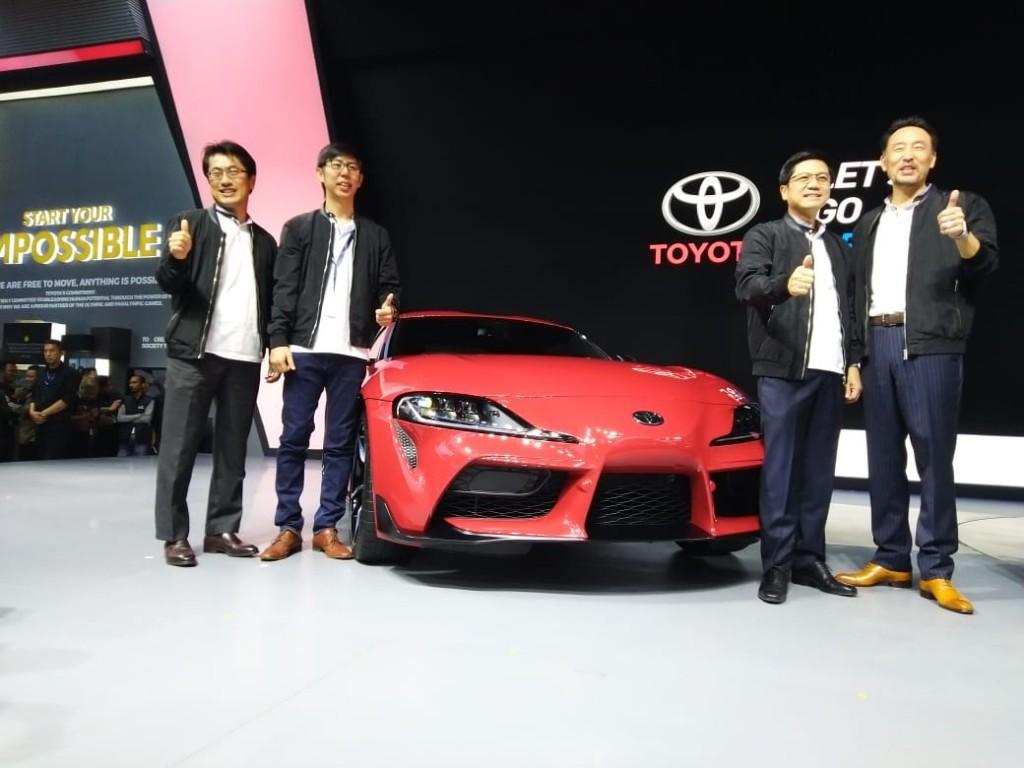 Booth Toyota di GIIAS 2019