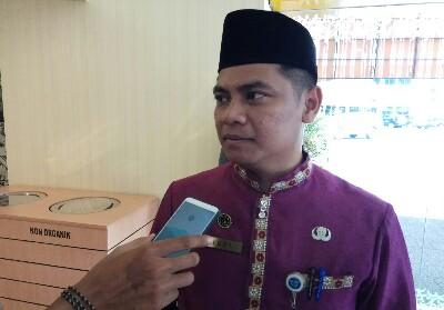 Sekretaris DPMPTSP Kota Pekanbaru F Rudi Misdian
