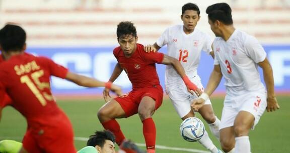 Tim Garud Muda maju ke Final SEA Games 2019.