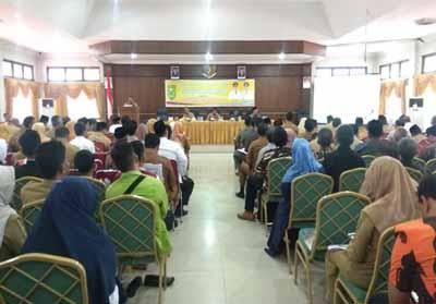 Kegiatan Forum Konsultasi Publik Dalam Rangka Penyusunan Rancangan Awal RKPD Inhu Tahun 2020.