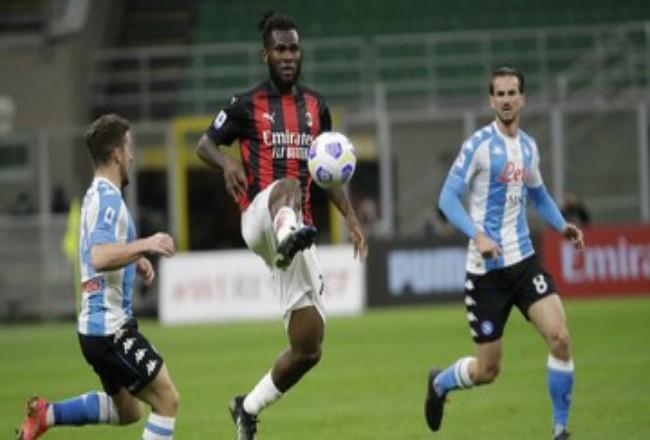 AC Milan tertinggal sembilan poin dari pemuncak klasemen Inter Mian. Foto: CNNIndonesia