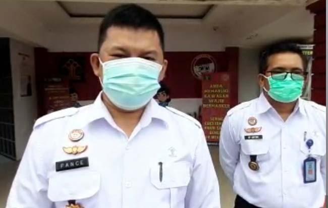 Kepala Rutan Kelas II B Kota Dumai, Pance Daniel Panjaitan.