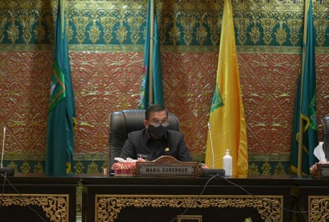 Wakil Gubernur Riau, Edy Natar Nasution.