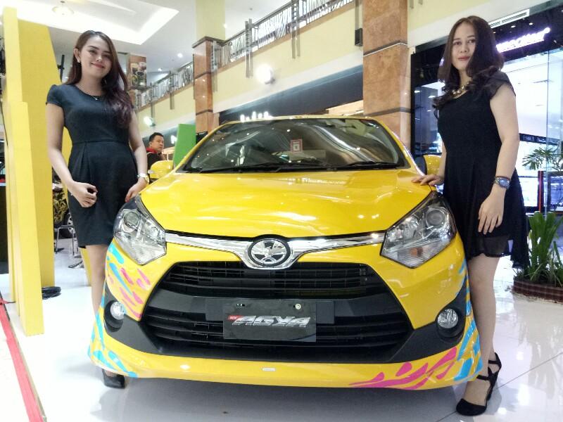 Toyota New Agya yang cukup banyak mendapatkan perhatian dari konsumen di Toyota Expo