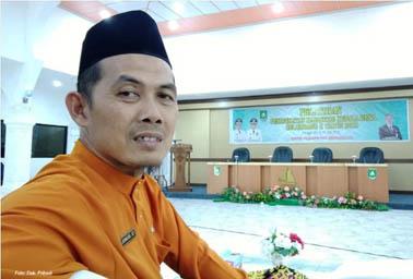 Kepala Desa Resam Lapis, Kecamatan Bantan, Junaidi.