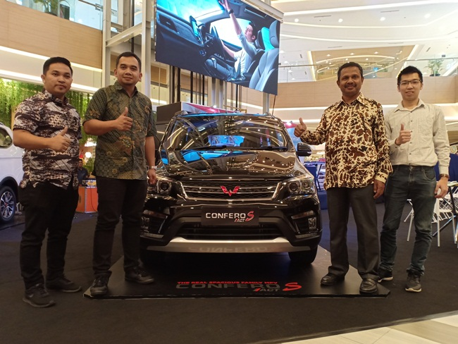 Launching Wuling New Confero S ACT