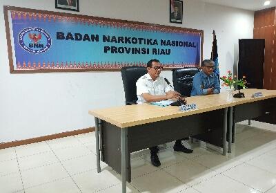 Kepala BNN Provinsi Riau Brigjend Untung Subagyo