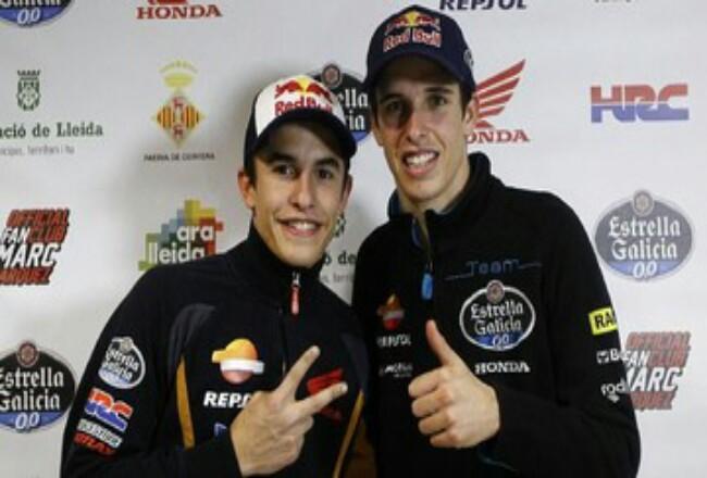 Alex Marquez bergabung bersama sang kakak, Marc Marquez, di tim Honda. Fofo: CNNIndonesia
