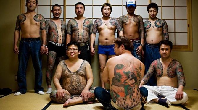 Tato di tubuh jadi salah satu ciri khas Yakuza