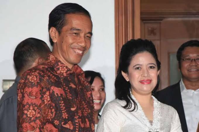 Puan Maharani dan Jokowi.