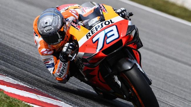 Alex Marquez terdepak dari Repsol Honda di MotoGP 2021. (Mohd RASFAN / AFP)