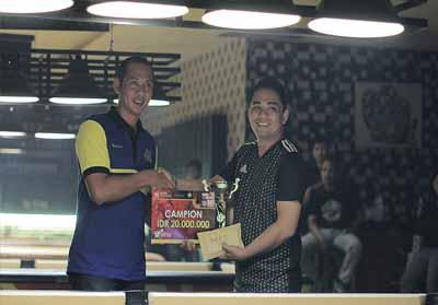 Atlet biliar asal Sumbar menang di Open Turnamen Biliar Kapolda Cup.