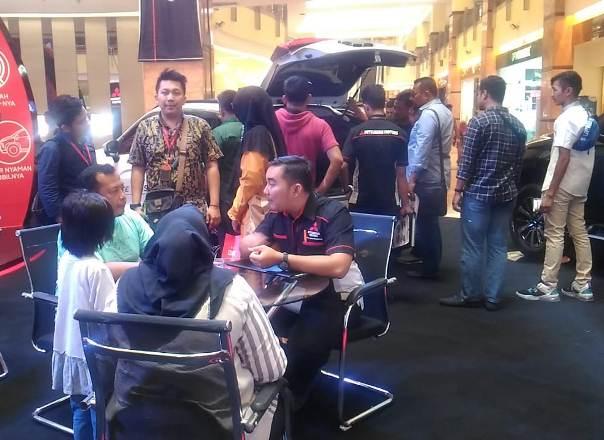 Suasana di Mitsubishi Auto Show