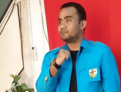 Zikrullah, Ketua Pengurus Kecamatan (PK) Komite Nasional Pemuda Indonesia (KNPI) Rumbai Pesisir (Rumpes).