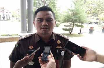 Kepala Seksi Pidsus Kejaksaan Negeri Bengkalis, Agung Irawan