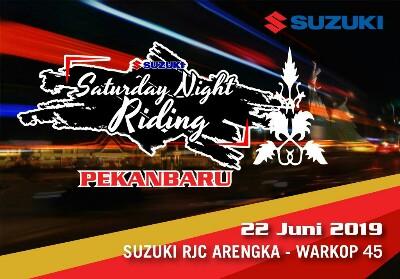 Suzuki Saturday Night Riding.