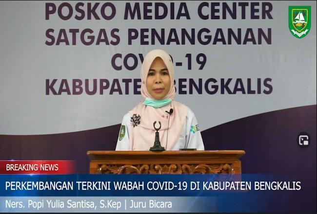 Juru Bicara Satgas Covid-19 Kabupaten Bengkalis, Ns Popy Yulia Santisa Skep