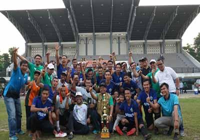 Persatuan Sepakbola Riau Andalan Pulp and Paper (PS RAPP) melaju ke Liga Nasional Galakarya 2019 setelah menundukkan Kemenkumham Riau FC dengan skor 3-1 pada pertandingan final Galakarya Zona Riau.