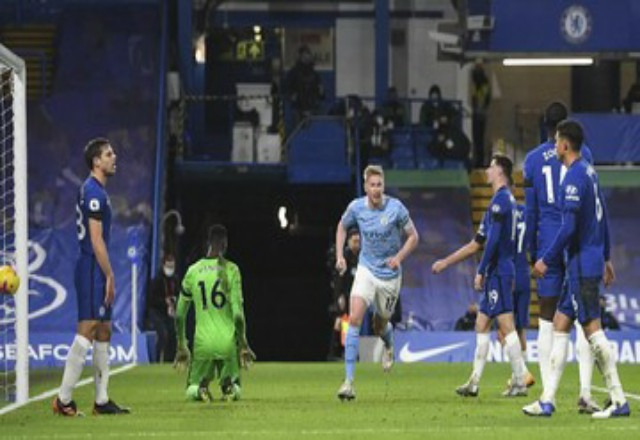 Man City vs Chelsea di final Liga Champions musim ini. Foto: CNNIndonesia