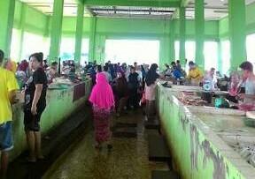 Pasar modern Selatpanjang. FOTO: Internet.