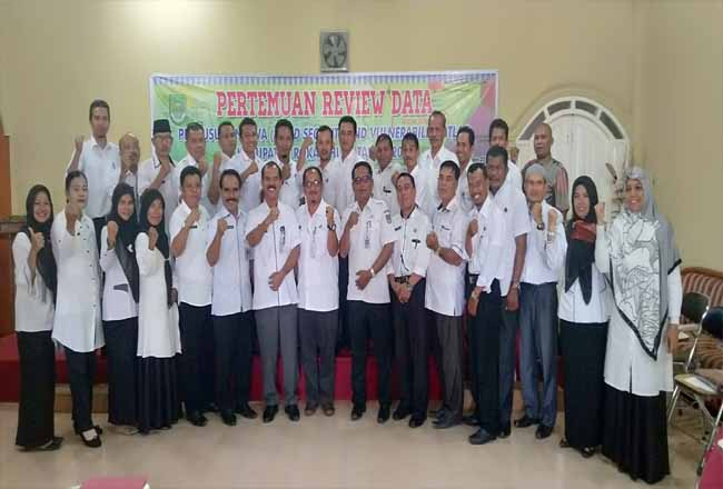 Rapat Koordinasi (Rakor) Tim Pokja Teknis Dewan Ketahanan Pangan (DKP) Rohul, Rabu (16/10/2019) digelar di Penginapan Putri Bungsu, Pasir Pangaraian.