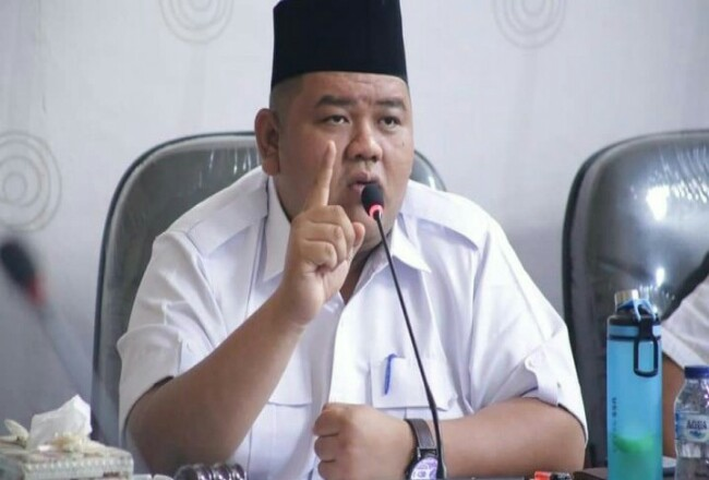 Ketua DPRD Rohul, Novliwanda Ade Putra