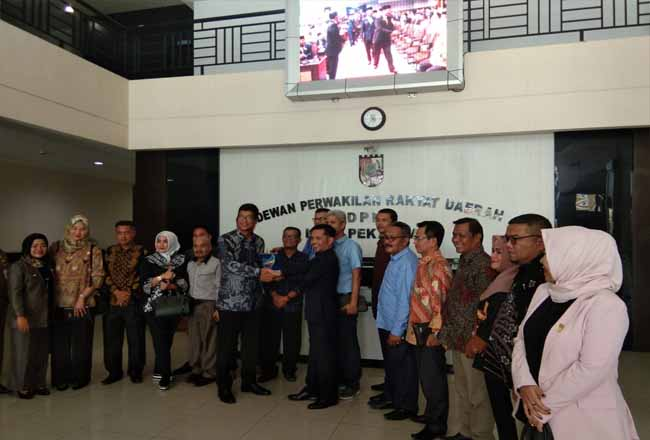 DPRD Solok kunjungi DPRD Pekanbaru.