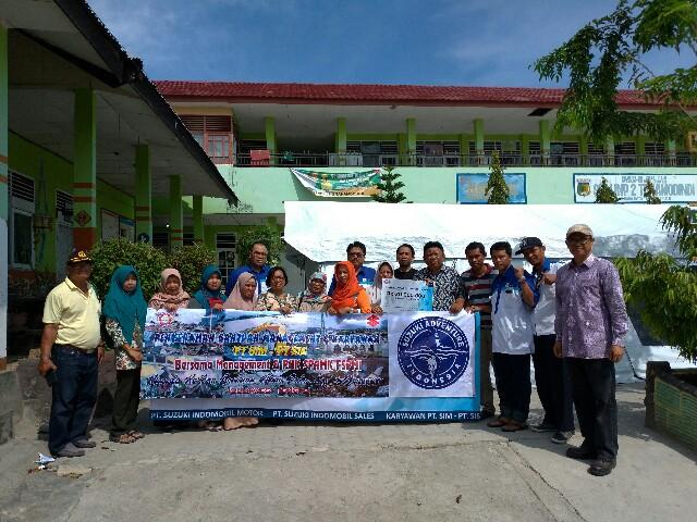 Suzuki menyalurkan donasi sebesar 1,2 miliar rupiah serta mengadakan program Servis Gratis Peduli Palu bagi korban bencana alam di Palu dan sekitarnya. Donasi dan program ini diharapkan dapat membantu pemulihan Palu sekaligus mendukung semangat masyarakat untuk kembali beraktivitas pasca bencana alam.