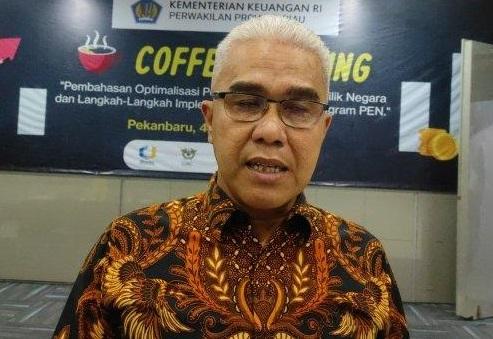 Kepala Kantor Wilayah Ditjen Perbendaharaan (DJPb) Provinsi Riau, Ismed Saputra