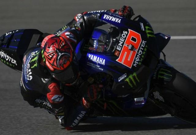 Hasil Kualifikasi MotoGP Spanyol 2021: Quartararo Start Terdepan. Foto: Detik