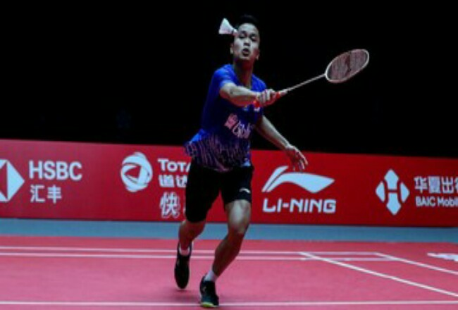 Anthony Ginting ke final Indonesia Masters 2020.
