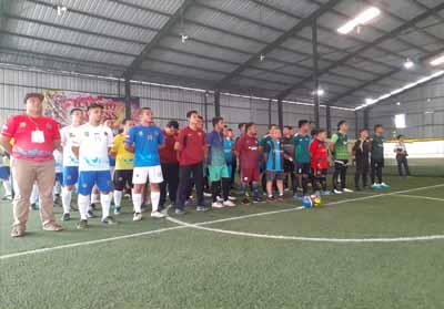 Futsal Open Tournament Championship Dishub Riau.